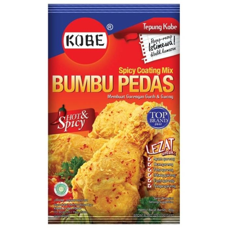 Tepung Bumbu Pedas - 75 gram