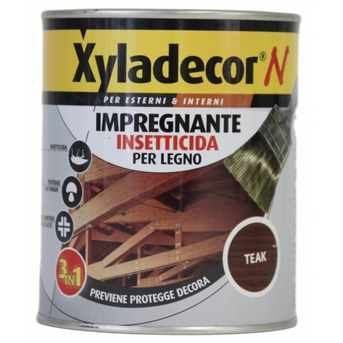 Xyladecor Houtinsecticide impregneermiddel - Teak - 750 ml