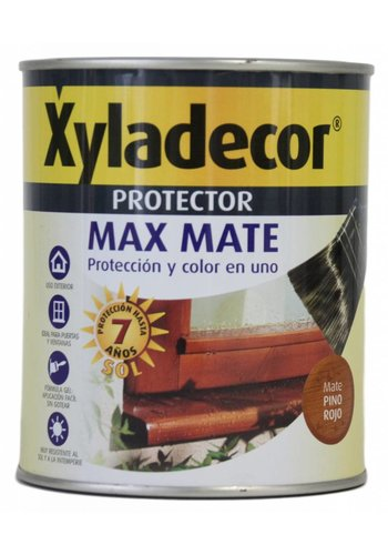 Xyladecor Xyladecor Protector Max Mate, couleur Pin rouge 750ML
