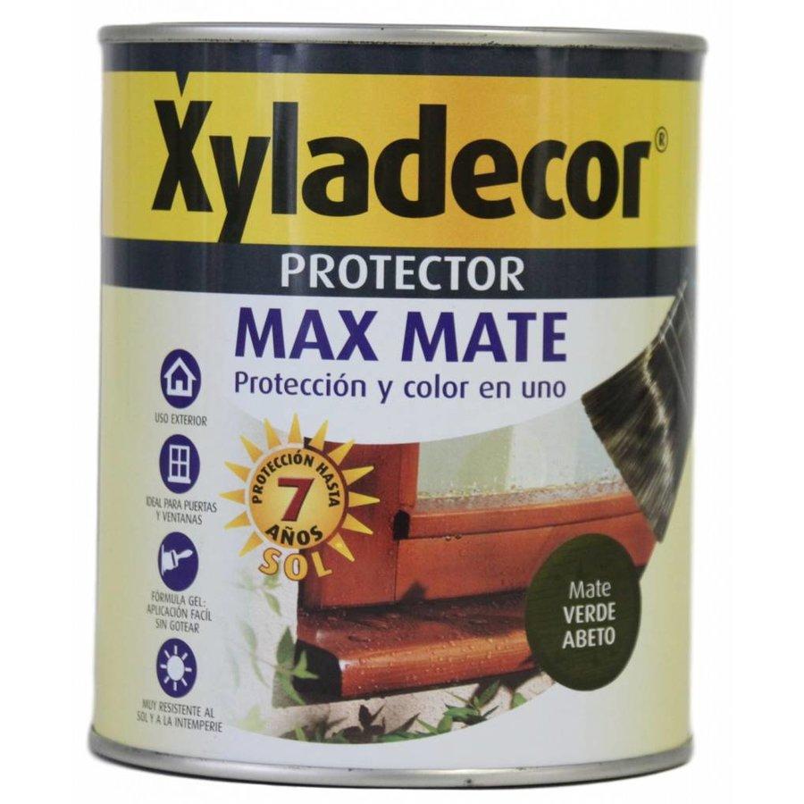 Hout protector - Max Mate - groene spar - 750 ml
