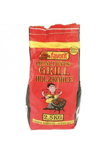 Neckermann Charbon de bois - 2,5 kg - gros grain + super brillant