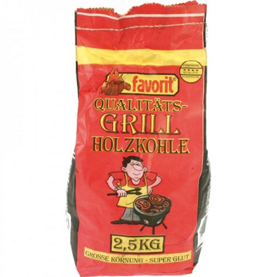 Grill / houtskool 2,5 kg grote korrel + superglans