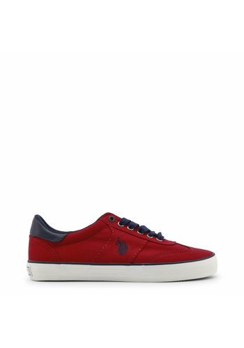 U.S. Polo Herren Sneakers von US Polo - rot