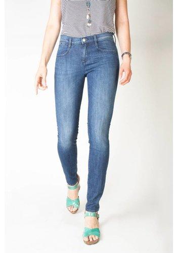 Gas Jeans pour femme de Gas SOPHIE - bleu