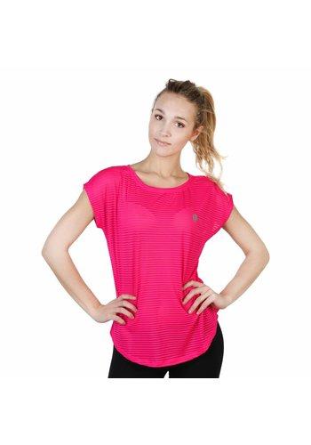 Elle Sport Dames T-shirt van Elle Sport - roze
