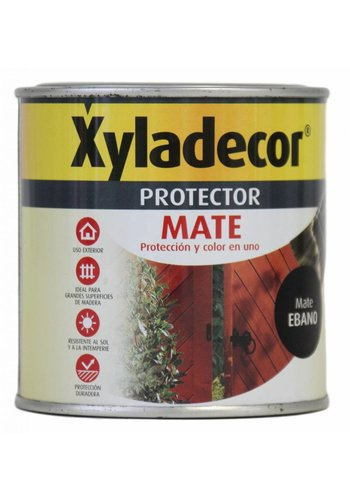 Xyladecor Protector XYladecor MATE Farbe Ebenholz Matte 375ML