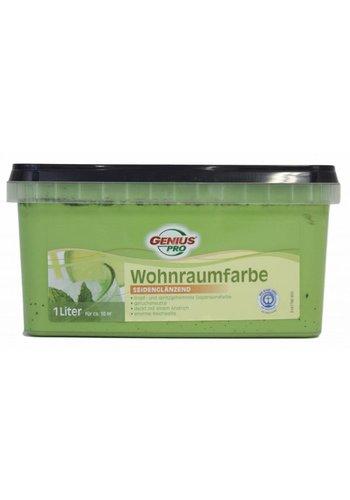 Genius Pro Muurverf - zijdeglans - palmera/groen - 1 liter