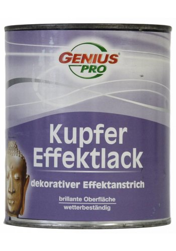 Genius Pro Koper effect verf, kleur oud koper, 750ML