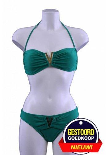 Neckermann Bikini V-Bandeau grün