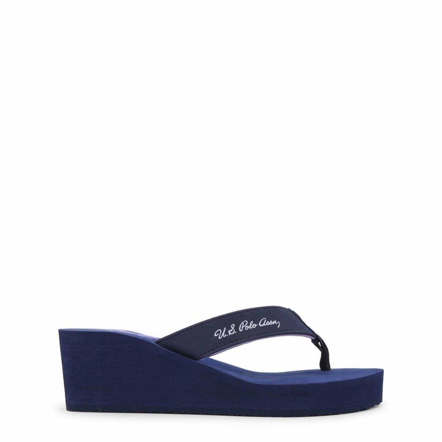 Damen Flippers von US Polo - blau