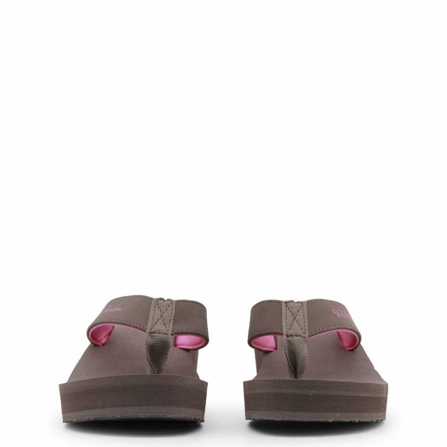 Damen Slipper von US Polo - braun