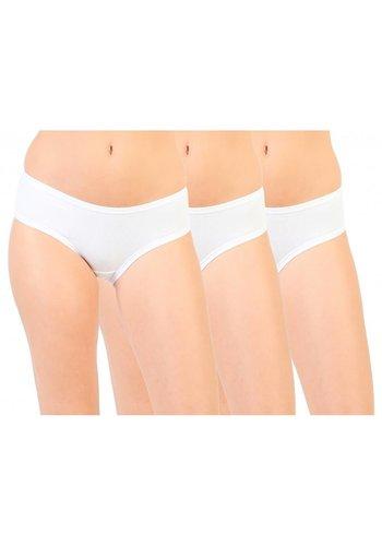 Pierre Cardin underwear Dames Slips van Pierre Cardin PC 3pack - wit