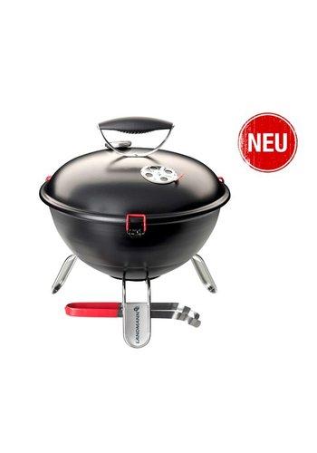 Landmann Houtskoolbarbecue - Piccolino - Zwart mat - 34 cm