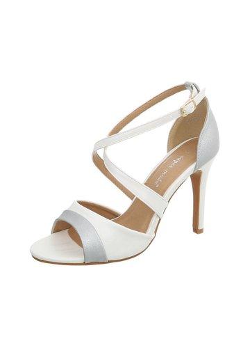 Neckermann Chaussure à talon ouvert pour dames - blanc