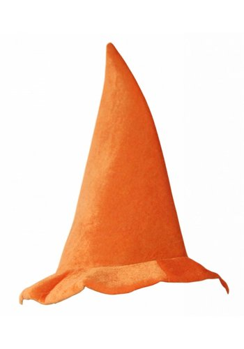 Neckermann Oranje puntmuts - 41 cm