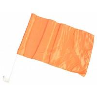 Oranje autovlag - 27x48 cm