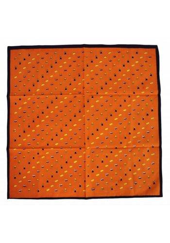 Neckermann Oranje knoop zakdoek - Sjaal - met Hollandse kenmerken