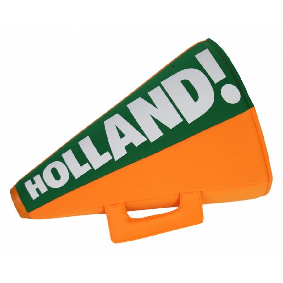 Oranje toeter met hoed Holland
