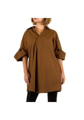 Neckermann Damen Bluse Gr. one size - brown