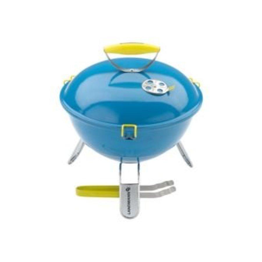 Houtskoolbarbecue - Piccolino - Azuur - 34 cm