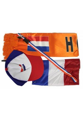Neckermann Oranje feestkleding set