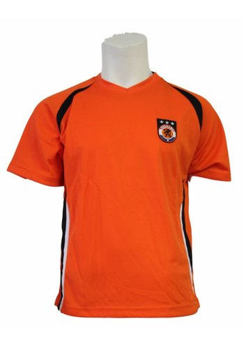 Neckermann Orange V-Neck-Fußballhemd
