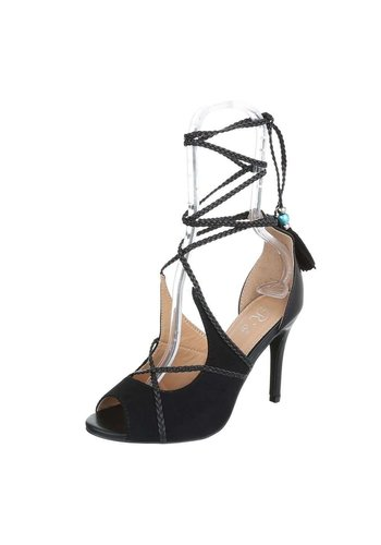 Neckermann Dames Peeptoe - zwart