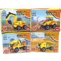 Speelgoedauto's - Bouwblokken - 9,5 x 7,2 cm