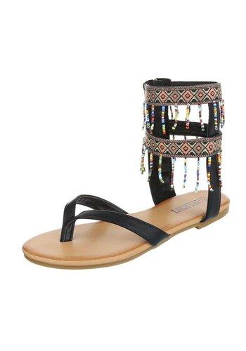 RUAN Damen Sandalen - schwarz