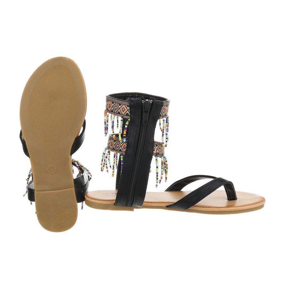 Damen Sandalen - schwarz