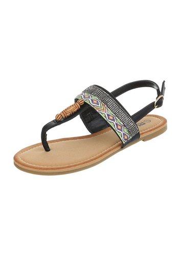 Neckermann Dames Sandalen - zwart