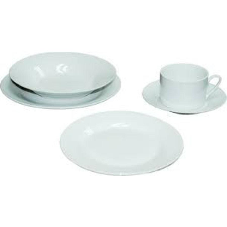 Servies set - 20 delig - Rond - Wit