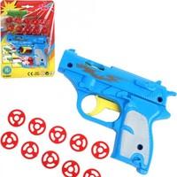 Speelgoed pistool - 12 cm - 10 schoten