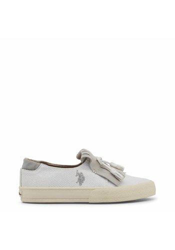 U.S. Polo Damen Loafers - weiß