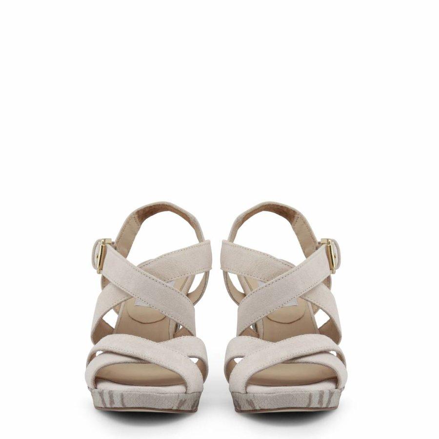 Dames Open schoen met hoge hak - beige