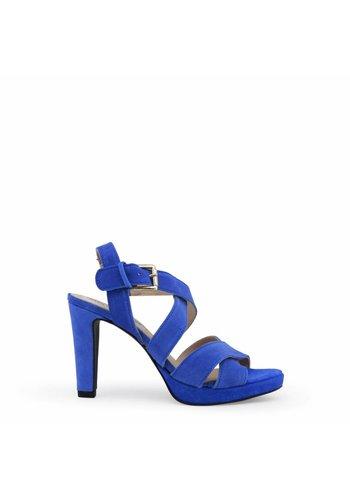 Arnaldo Toscani Dames Open schoen met hoge hak - blauw