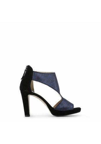 Arnaldo Toscani Dames Open schoen met hoge hak - zwart/blauw