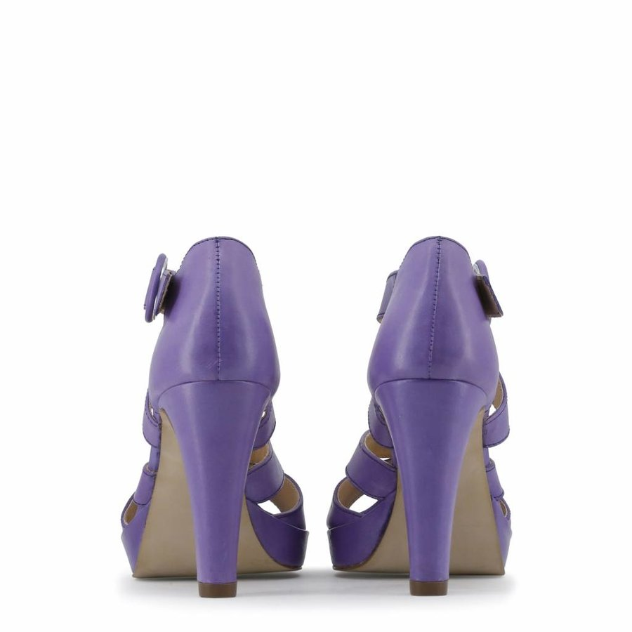 Dames Open schoen met hoge hak - paars