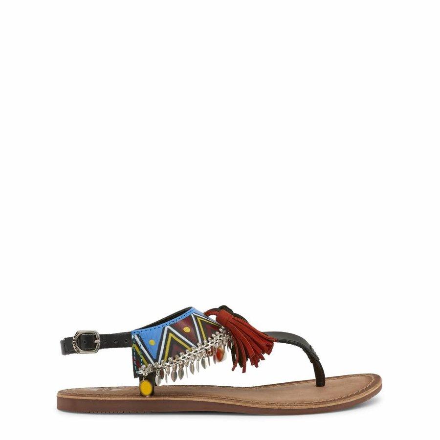 Damen Sandale - schwarz