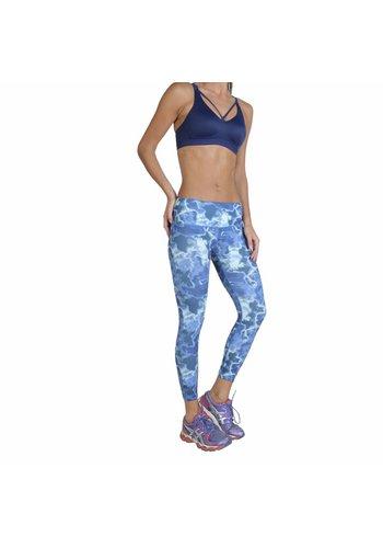 Elle Sport Pantalons d'entraînement pour dames - bleu
