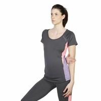 Damen Sport Shirt von Elle - anthrazit