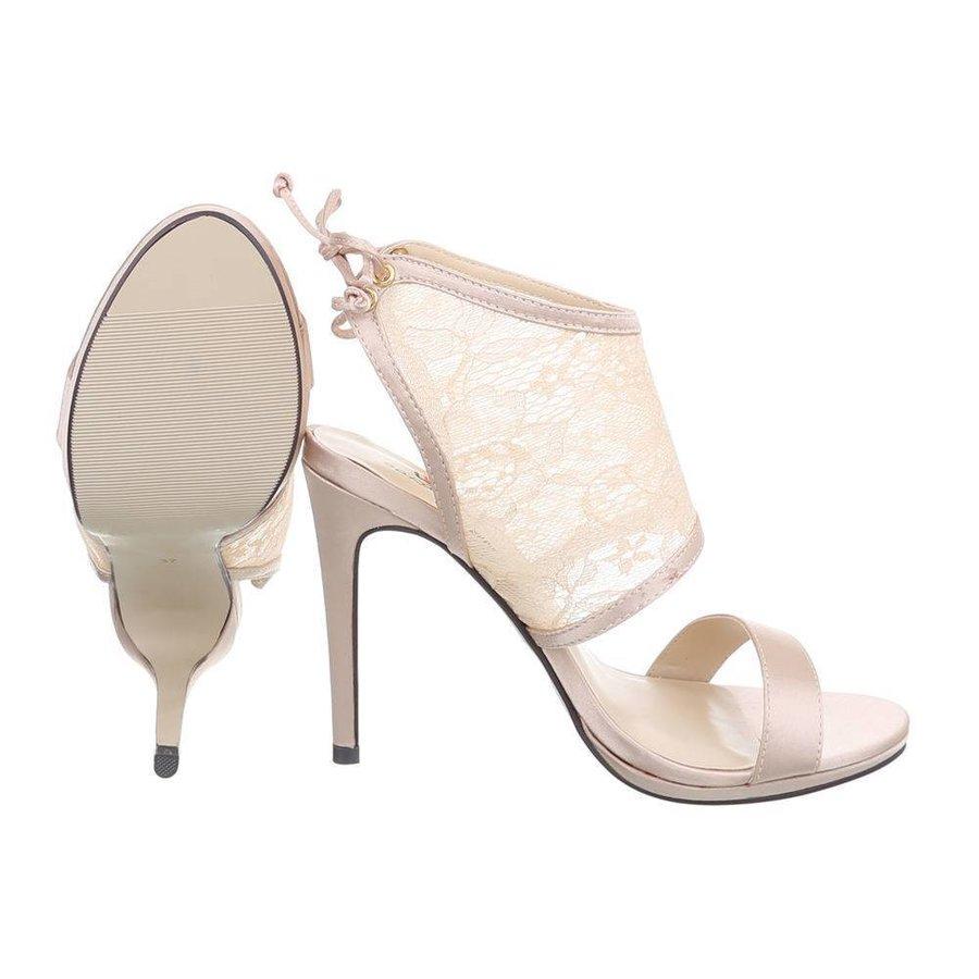 Damen Offener Schuh - beige