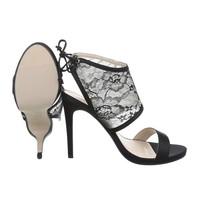 Damen Open Schuh - schwarz