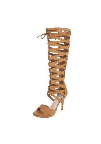 Neckermann Ladies Open boot - camel