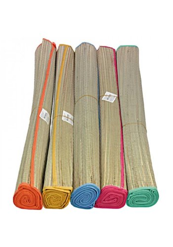Neckermann Rieten strandmat - 180x60 cm - in diverse kleuren
