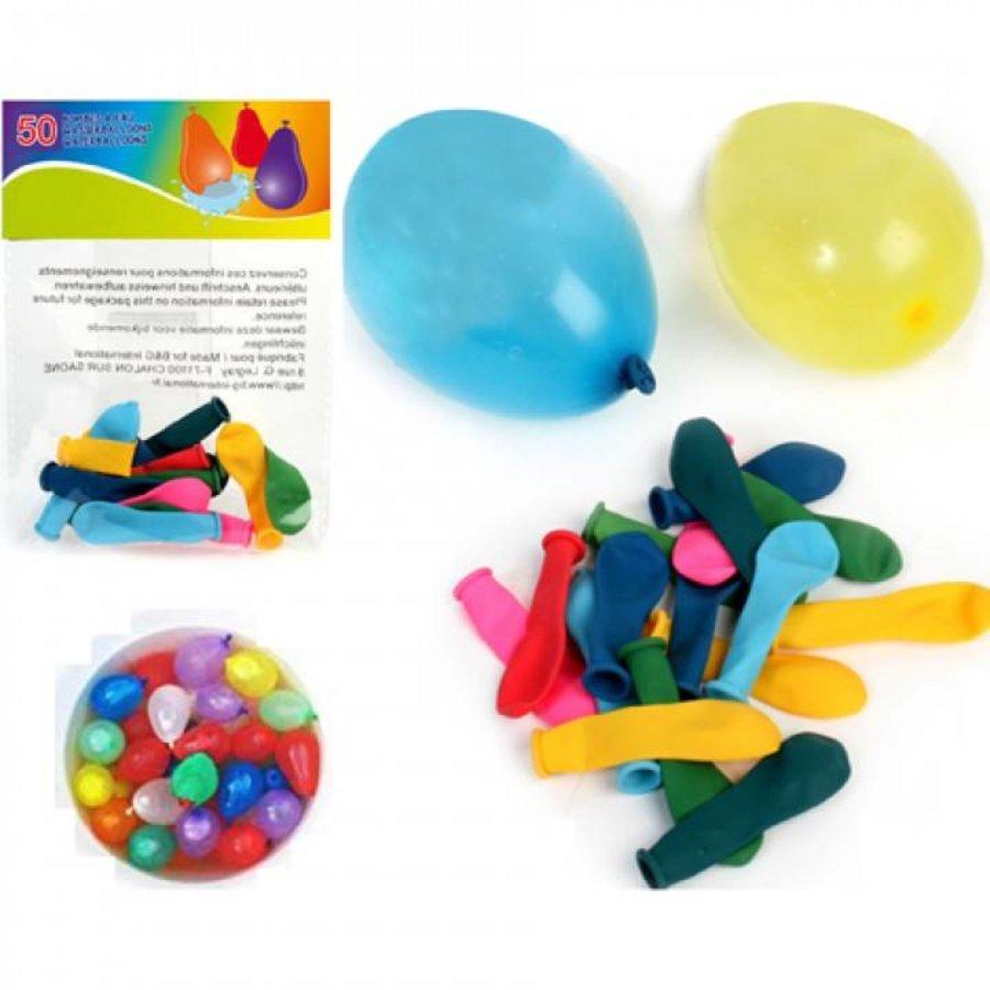 Waterballonnen - 50 stuks