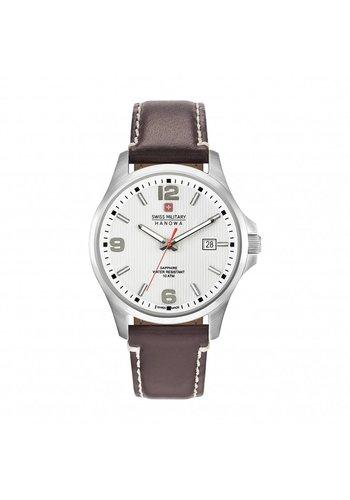 Swiss Military Heren Horloge - bruin