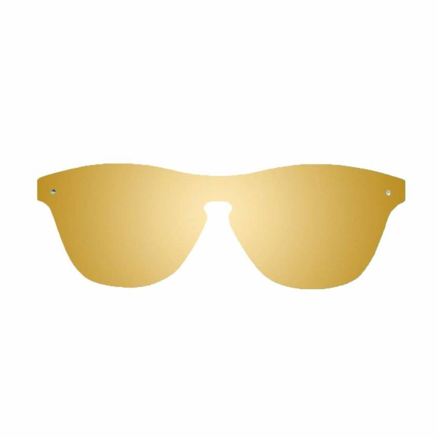 Unisex Sonnenbrille - braun / gold