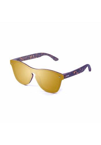 Ocean Sunglasses Lunettes de soleil unisexes - marron / or