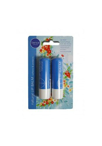 Sence natural Lippenbalsem - 2 x 4,8 g